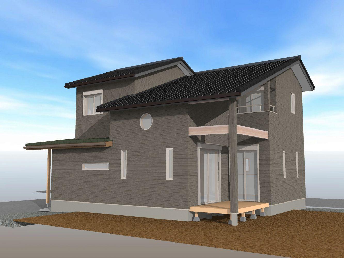 真木町新築分譲住宅(一戸建て)